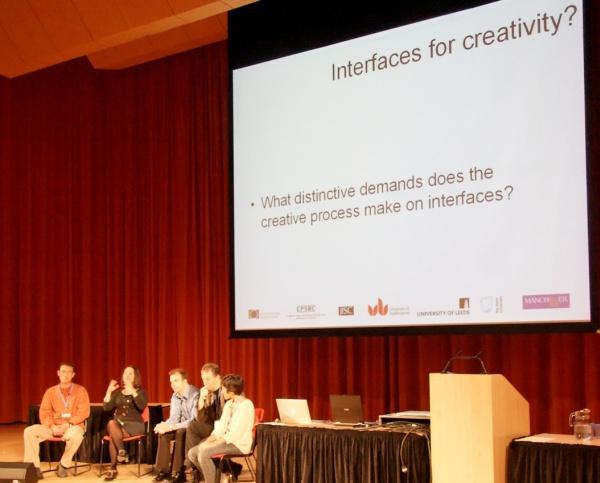 Panel at DRHA'08